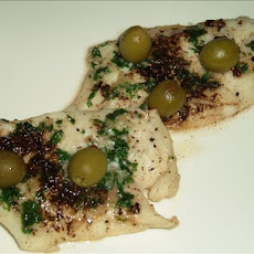 Sea Bream Fillets With Olives En Papillote