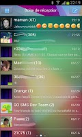 Screenshot of Go SMS Jelly Bean 4.1 theme 2