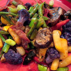 Bacon and Mushroom Stir-Fry