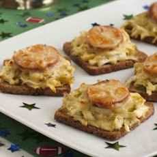 Mini Reubens with Honey Mustard Slaw
