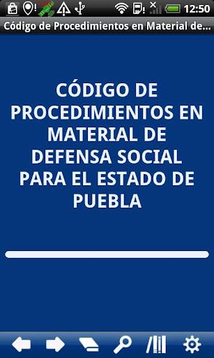 Social Defence Proc. Puebla