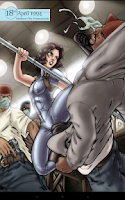 Screenshot of ComicRack