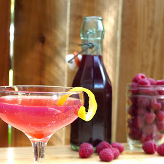 DIY Raspberry Liqueur