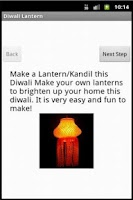 Screenshot of Diwali Lantern Making
