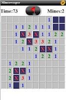 Screenshot of Mine Sweeper