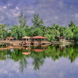 Tasek Melati, Perlis by Mala Awang - Landscapes Waterscapes