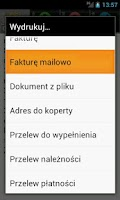 Screenshot of Firemka LITE : szybka faktura