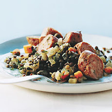 Sausage and Lentils with Fennel
