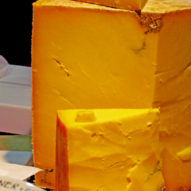 Cheese Block by Wendy Richards - Food & Drink Meats & Cheeses ( cheeses, block, eat, cheese, yellow,  )