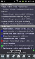 Screenshot of Exchange by TouchDown Key