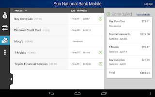 Screenshot of Sun National Bank
