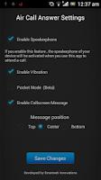 Screenshot of Air Call Answer