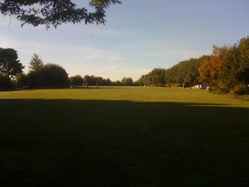 Play field at Golden Gardens