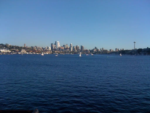 Downtown Seattle across Lake Washington
