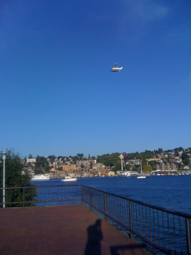 Float Plane above Gasworks