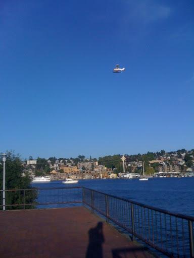 Float Plane above Gasworks