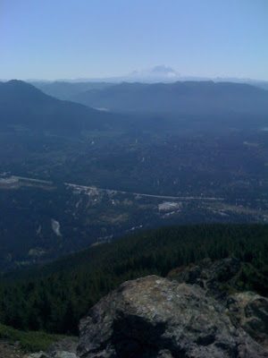 View of Mt. Ranier from Mt. Si