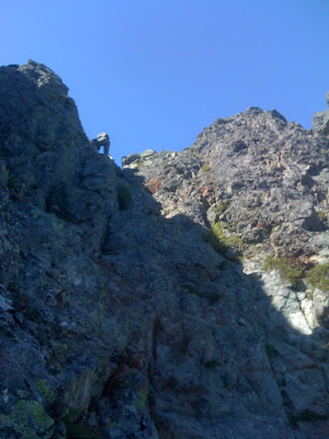 The Haystack on Mount Si was pretty steep, but climbable.