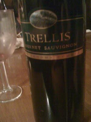Joels Wine: Trellis Cabernet Sauvignon