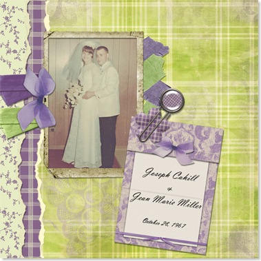 CAHILL, Joseph CAHILL &amp; Jean Marie MILLER Scrapbook 001