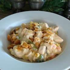 Easy Creamy Sour Cream Chicken Casserole
