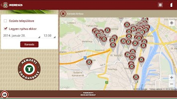 Screenshot of Tobacco Shop Finder