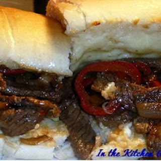 Beef Short Rib Steak Sandwiches