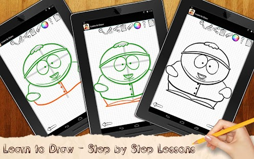 Learn To Draw South Park - screenshot