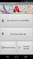 Screenshot of Metro Transit St Louis AnyStop