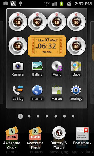 Coffee Battery Torch Widget