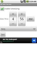 Screenshot of SMS Backup Scheduler & Restore