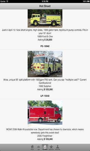 Used Fire Trucks by Firetec®