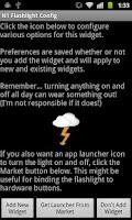 Screenshot of Nexus One LED Flashlight