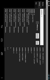 iptables by su for tablet - screenshot