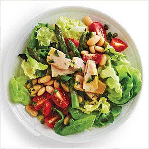 Tuna and White Bean Salad with Tahini Recept   Yummly