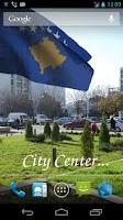 Screenshot of 3D Kosovo Flag Live Wallpaper