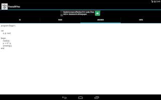Screenshot of Pascal4You
