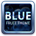 Blue Fruit Theme GO Launcher icon