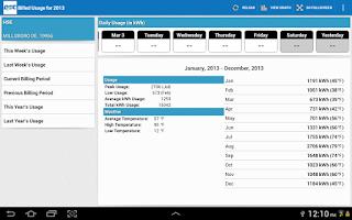Screenshot of DEC Connect