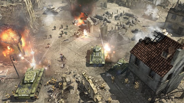Company Of Heroes 2 celebrates Elbe Day with a free weekend