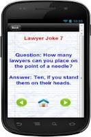 Screenshot of 101 + Funniest Lawyer Jokes