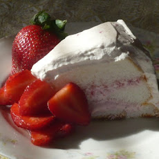 Strawberry Refrigerator Cake