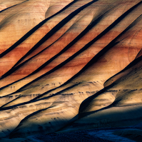 Painted Hills, Oregon by Peter Cheung - Landscapes Mountains & Hills ( oregon, painted hills )