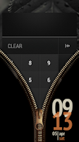 Screenshot of Zipper Lock Screen