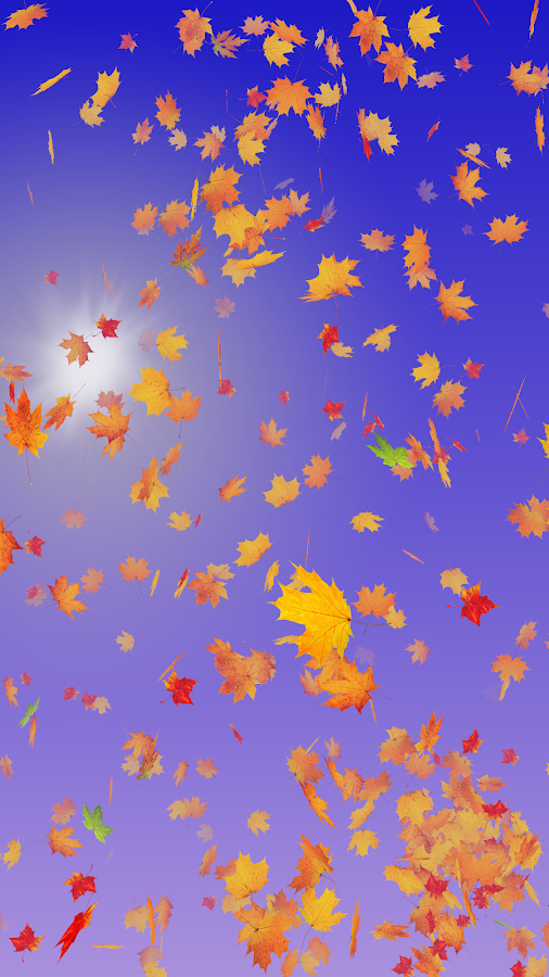 Autumn Leaves Live Wallpaper Screenshot 16