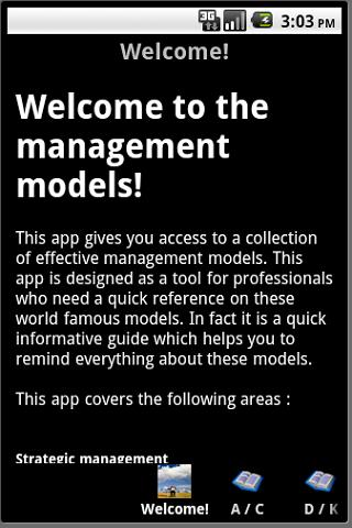 Management Models