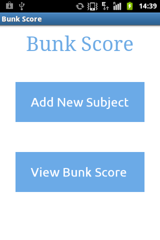 Bunk Score