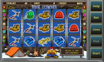 Screenshot of Rockclimber Casino Slots -FREE