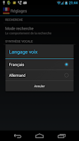 Screenshot of French German Dictionary