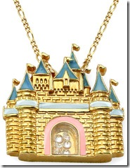 disney castle pendant